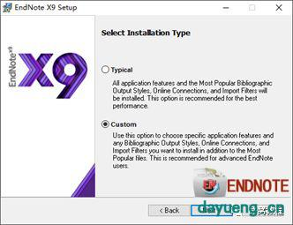 文献管理 Thomson Reuters EndNote X9 for Windows 简体中文汉化版(含Office插件)